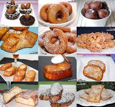Doce recetas para Semana Santa. Recetas dulces