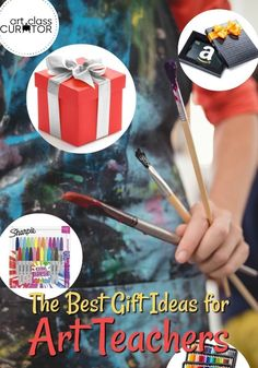 Teacher's appreciate any gesture that shows you recognize their hard work.  We have a list of items that your Art Teacher will certainly love and find useful this Holiday Season.