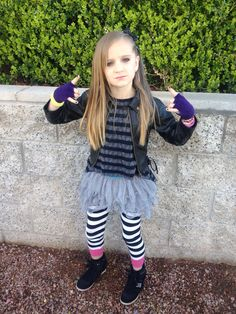How to dress up like a rockstar for school — photo 2