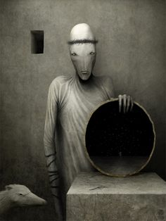 Powerful, disturbing visual emotions from the Russian designer Anton Semenov