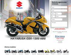 Landing Page Suzuki Concessionaria