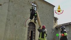 Vigili del Fuoco - Nocelleto - Recupero opere d'arte Chiesa di S. Maria ...