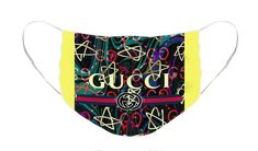 Face Mask featuring the tapestry - textile Ghost by Gucci Ghost Face Mask, Face Masks, Fashion Artwork, Ghost Faces, Gucci Shop, Sales Image, Masks For Sale, Fashion Face Mask, Mask Design