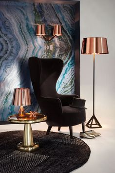 Tom Dixon is always the first thing to come to our minds when we think of copper!