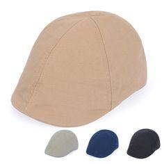 Men Cotton Canvas Duckbill Newsboy Hat Golf Driving Gatsby Cabbie Beret Ivy Cap #Goldtop #NewsboyCabbie