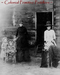 Linda's Blog: That Picture Of The Colonial Women and Their Children!