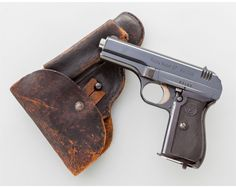 This is a standard prewar Czech ČZ Model 27 pistol and holster, with fine commercial finish.