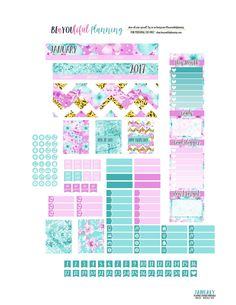 New Monthly freebie printable!! I created this printable for the Erin Condren/Recollections, Classic Happy Planner, and Mini Happy Planner.