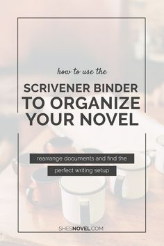 Welcome to week three of the Story Writing With Scrivener mini-series. Thus  far, we've talked about my top 10 reasons to start working with Scrivener and how to start a new novel project. This week, I'm taking you inside  Scrivener for the first time by introducing you to the Scrivener Binder.  The Binder is one of my favorite features in Scrivener. Found in the  left-hand column of your screen, the Binder allows you to create and  organize as many folders, sub-folders, and documents as…