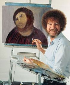 """""""The Joy of Painting"""" with Bob Ross"""