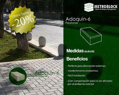 Adoquín N.6 arte diseña por metroblocksas