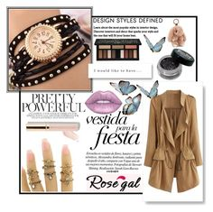 """51) ROSEGAL"" by mirecr7 ❤ liked on Polyvore featuring Beautycounter and Kat Von D"