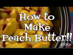 Crock Pot Peach Butter Recipe!  Noreen's Kitchen