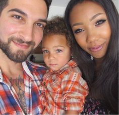 Well this is my beautiful family. My husband is White, I am Black. We met on  www.wwwwhitemen-blackwomencom.com   . We have a beautiful baby girl together! My family did not approve of him until our baby was born and then they learned how to accept him. He's a wonderful & caring father! Love is Color Blind !!!