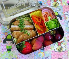 Chimichurri Pork LunchBots Bento by sherimiya ♥