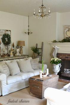 Landleben Vintage Wohnen | Vintage, Landhaus, Farmhaus, Faded Charme  Cottage...... | Pinterest