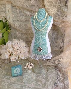 Necklace Display Mannequin Dress Form