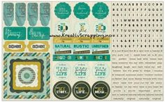 AUTHENTIQUE - CARDSTOCK STICKERS NAT005 - NATURAL  Pakke med stickers ord, tekst og figurer fra AUTHENTIQUE.-Elements Shape/Phrase/Frame/Word/Alpha.  AUTHENTIQUE PAPER-Natural Collection: Cardstock Stickers.Add a cute and colorful design, word or phrase to all of your paper projects with these stickers! This package contains one 12x8 inch sheet of stickers. Design: Elements Shape/Phrase/Frame/Word/Alpha. Archival safe.