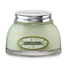 Almond Delightful Contours, anti cellulite cream, helps reduce cellulite appearance & makes skin seem firmer  leaving a delicious fragrance of almonds.