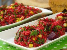 Kırmızı Pancarlı Bulgur Salatası Resmi