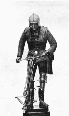 Spanish crossbowman, XV century