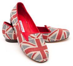 Mandarina Union Jack Loafer