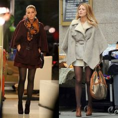 Winter looks - coat - Serena van der Woodsen Gossip Girl always beautyful <3 Looks de Inverno nas cores da estação by Pantone