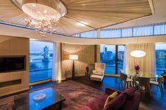 Three Quays, London Penthouse 2014 Home, Lighted Bathroom Mirror, Lighting Design, Hotel, Restaurant Lighting, Bathroom Mirror, Hotel Restaurant, Light Project, Mirror