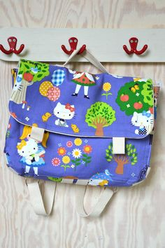 dutch tutorial with pictures for this sweet toddler backpack - by cozette