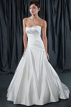 louis weddings and parties-Alfred Sung Bridal Wedding Dress Signature wedding dress,cheap discount evening dresses,cheap discount bridal gowns,cheap discount prom gown Chapel Wedding Dresses, Ruched Wedding Dress, Wedding Dresses 2014, Luxury Wedding Dress, Formal Dresses For Weddings, Wedding Dress Styles, Bridal Dresses, Bridesmaid Dresses, Wedding Gowns