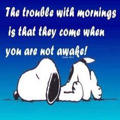 Mornings... jajaja!!