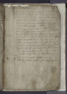 Recipe, written in English in the 15th century.