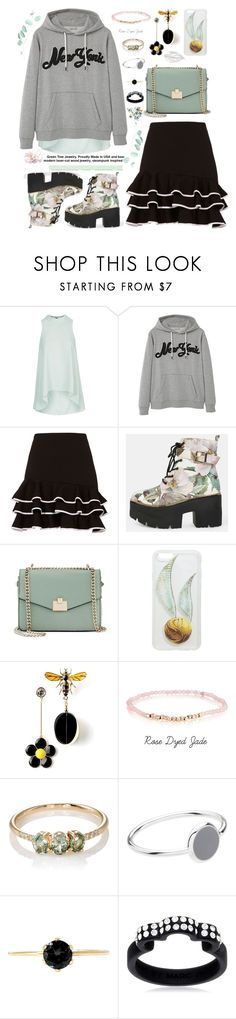 """- Bee a little more you -"" by bugatti-veyron ❤ liked on Polyvore featuring Topshop, MANGO, Jonathan Simkhai, Jennifer Lopez, Jennie Kwon, Witchery and Marc by Marc Jacobs"