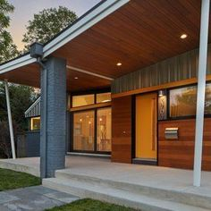 63 Best Mid Century Modern Exteriors Images In 2019
