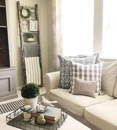 22 Cozy Farmhouse Living Room Makeover Decor Ideas