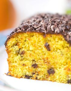 Orangen Kokos Kuchen - vegan & saftig - Healthy On Green