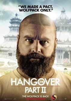 The Hangover Part II - (2011)  Director: Todd Phillips  Stars: Bradley Cooper, Zach Galifianakis, Ed Helms.  Two years after the bachelor party in Las Vegas, Phil, Stu, Alan, and Doug jet to Thailand for Stu's wedding. Stu's plan for a subdued pre-wedding brunch, however, goes seriously awry.