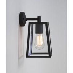 Astro Lighting Calvi Single Light Outdoor Wall Fitting in Black Finish - Astro Lighting from Castlegate Lights UK