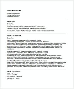 Sales Operations Manager Resume   General Manager Resume  Find