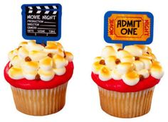 Movie Night Cupcakes