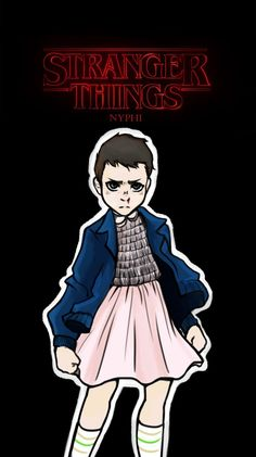 Stranger things: eleven by nyphi on deviantart. Stranger Things Tv Series, Stranger Things Phone Case, Stranger Things Shirt, Stranger Things Steve, Stranger Things Aesthetic, Stranger Things Season 3, Stranger Things Halloween, Friends, Deviantart
