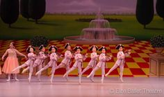 Elite Ballet Theatre performing their spectacular Winter Show!  Backdrop (S2708) Garden with Fountain backdrop