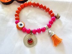 SALEBELLY DANCE bracelet  Gypsy bracelet  coin bracelet by Nezihe1