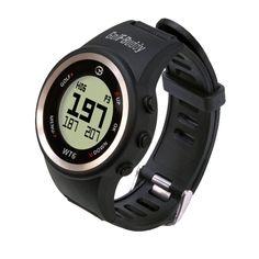 GolfBuddy Golf GPS Watch - Black for sale online Best Golf Rangefinder, Cool Watches, Watches For Men, Gps Watches, Casual Watches, Golf Range Finders, Cheap Golf Clubs, Golf Gps Watch, Golf Apps