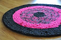 Méchant Design: neon and black rock!!!! LOVE this rug!!!! <3