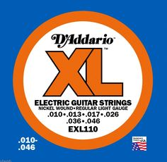 These go on most of my electric guitars.