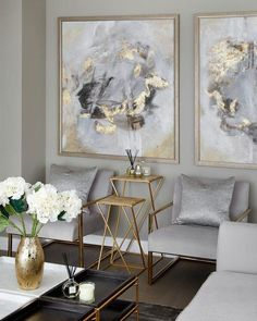Legende The Best Luxury Living Room Designs from Our Favorite Celebrities - Dekoration Site / 2019 Decor, Luxury Living Room Design, Living Room Designs, Living Decor, Interior Design, House Interior, Room Decor, Apartment Decor, Gold Living Room