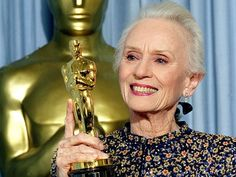 """Jessica Tandy 1989. Best Actress Oscar winner for work in the movie """"Driving Miss Daisy"""". She was a wonderful actress and person."""