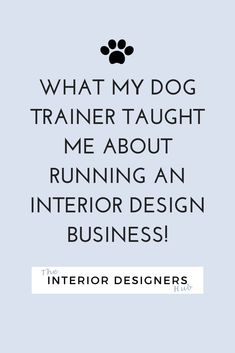 Seriously, when I hired a trainer for my naughty pooch, it reminded me of some of the basics of running your own interior design business.   #marketing #branding #pricing #businessadvice #interiordesigncoach #socialmediamarketing #interiordesign #interiorinspo #interiorlovers #interiordesigner  #interior_design #homeinterioruk #interiordesigncommunity #interiordesignstudents #interiordesigneruk #interiordesignersuk #studyinteriordesign #interiordesignstudentproblems…
