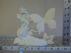 Ready to Paint Ceramic Bisque Swallowtail butterfly